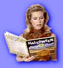 Samantha's leitura a Dia das bruxas story. Which A Feiticeira Dia das bruxas episode is this from?