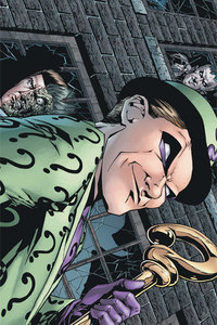 The riddler mental disorder?