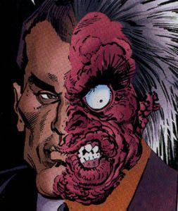 Two-Face mental illness?
