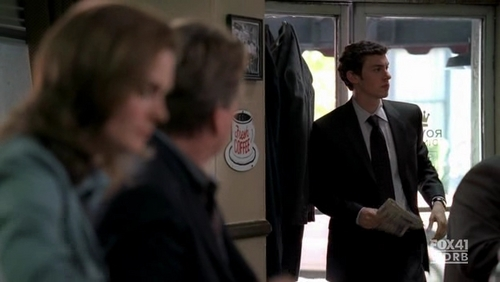 The Bone That Blew: What did Max say about Sweets in this scene?