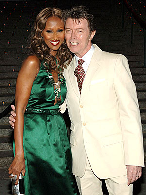 What year did David meet Iman?