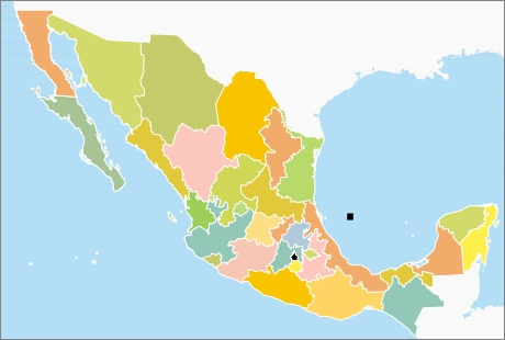 How many states are in México?