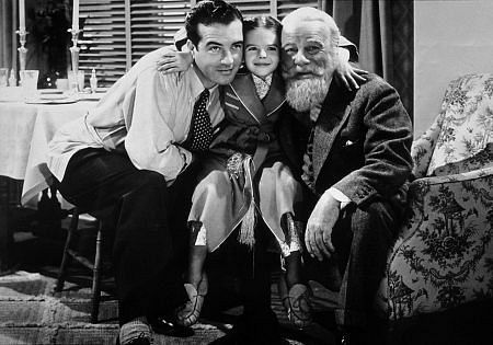 What special event is taking place in the opening of 'A Miracle on 34th Street'?