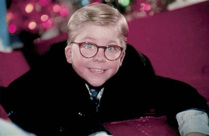 When Ralphie asks his mom for a BB gun in 'A Christmas Story', what is her response?