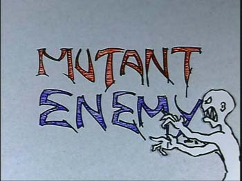 Joss' production company is called 'mutant enemy' but what significant thing from Joss' past does it share its name with?