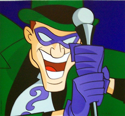 Who is the actor that played The Riddler in the Batman movie made with the 4 main villains in 1966?
