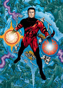 This superheroe goes দ্বারা the name of Tempest, but used to be Aquaman's sidekick