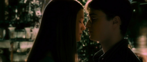 when was the first time Harry saw Ginny after he and ron and hermione left to destroy the Horcruxes.