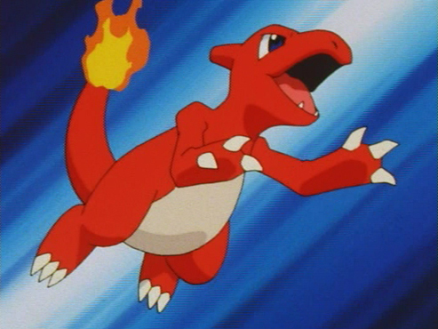 This is Ritchie's Charmeleon. What is it's nickname?