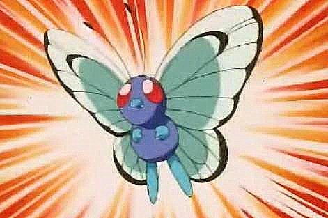 This is Ritchie's Butterfree. What is it's nickname?