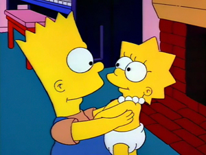 What was Lisa's first word?