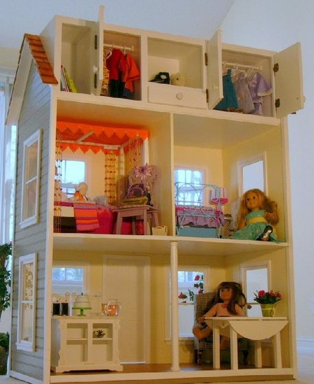 Review Of A New Dollhouse Made For American Girl And Other