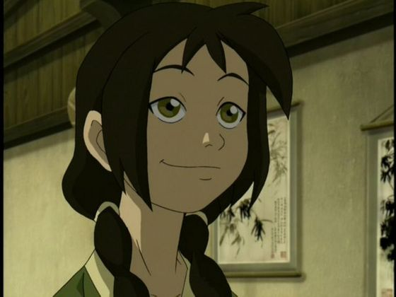 9.Jin she is lovely but she has eyes for Zuko back off he's Mai's