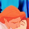 Belle and her prince aka the beast in human form