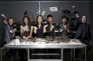 Bones, Season Three Cast.