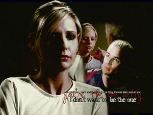 Spike gave Buffy courage and 愛