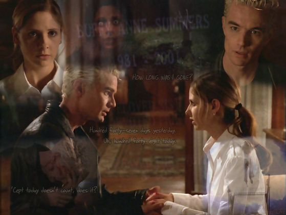 """I was Happy"" Buffy & Spike ""AfterLife"""