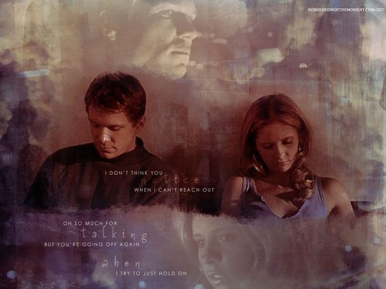"""""""Into the Woods"""" Buffy & Riley"""