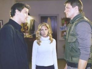 "angel Buffy and Riley ""The Yoko Factor"""