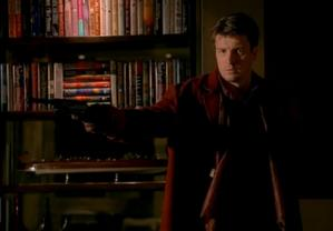 """Mal Reynolds makes a cameo appearance in """"Castle"""""""