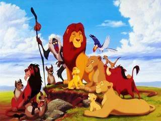 #8: Can anda Feel The cinta Tonight from Lion King
