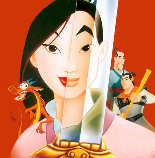 #7: I'll Make A Man Out Of tu from mulan