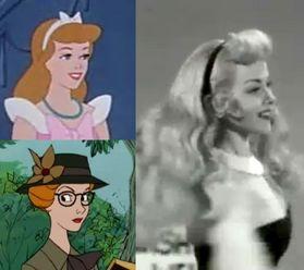 Personajes de Disney inspirados en personajes reales