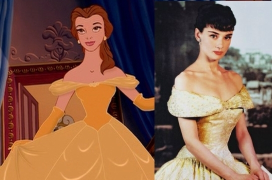 Belle vs. Audrey Hepburn