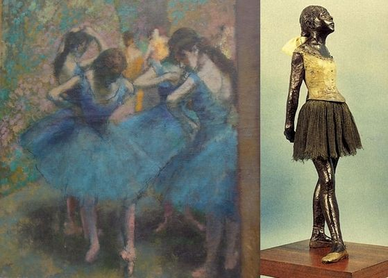 works par Edgar Degas