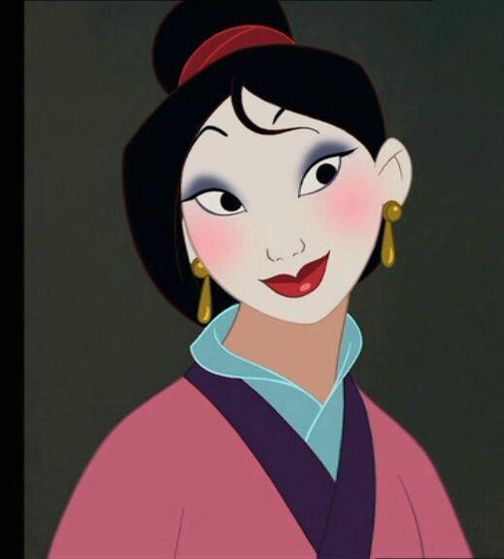 #9. Everyone loves mulan because shes the rebel in every woman. She's brave, smart, but shes also clumsy and a misfit. Shes the most real and relatable. And she manages to save China, even with the pressure of being a woman.