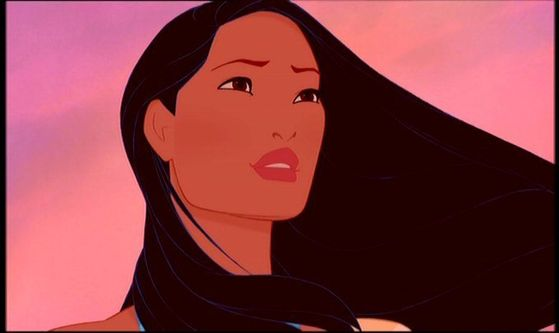 #4. Pocahontas is an exotic beauty. Her body is the most fit of any of the girls. Plus, shes brave, smart, wise, and she follows her heart. Too bad it didn't work out with John Smith! (and ugh..don't MENTION the sequel.)