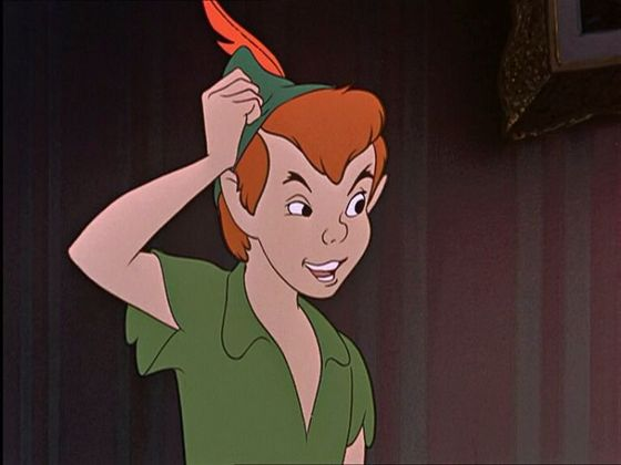 9. Peter Pan is sexy! Cmon, who doesn't Amore a man in tights?