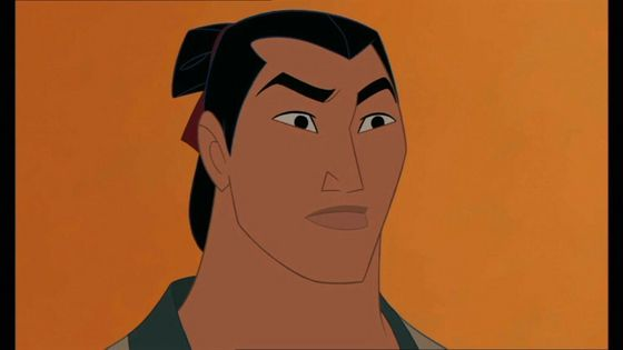 6. Shang, tu can make a man out of me anyday! I'm sorry, but he can sing, and not only that, but sing shirtless? MM-MM-MMMM!