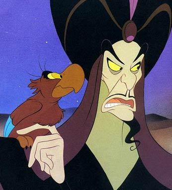 Jafar: tricks a boy into going into a dangerous cave, and later tries to kill him.