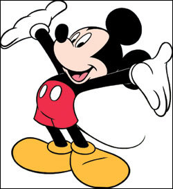 Walt Disney's most popular character, Mickey tetikus