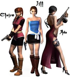 The Women of Resident Evil