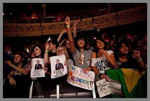 that's me with the Bob for President sign :)
