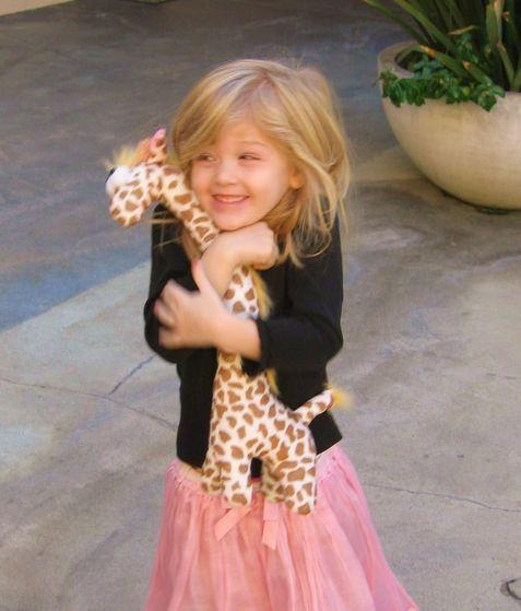 Everyone Loves a Giraffe!