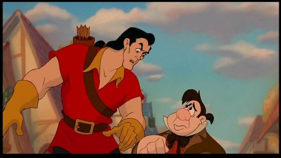 Gaston and Lefou are like Nathanial and Edward