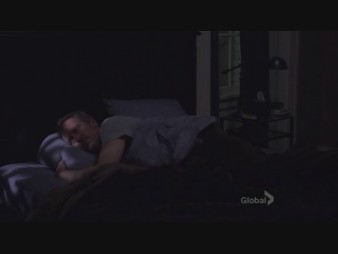 "53. I amor this huddy moment cuddy doesn't trust house to stay in cama and rest so she goes over to his house stays on his sofa and makes sure he does "" the other nurse used to tuck me in"""