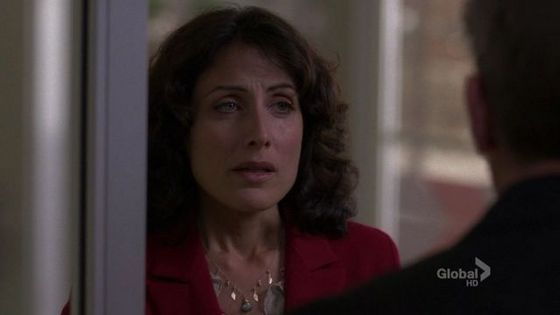 32. This scene has no words but it's heartbreaking you can tell cuddy is so worried about house and you can tell cuddy and house are in amor with each other.