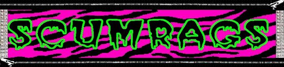 Scumrags Punk Rock Clothing Co. Logo