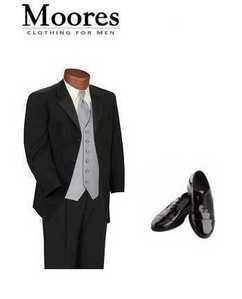 What Jacob is wearing for his Wedding