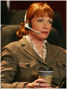 Lauren holly (AKA Director Jenny Shepard)