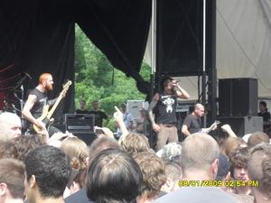 Job For A Cowboy at Mayhem Fest 2009 Pittsburgh, PA