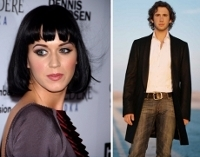 Katy Perry and Josh Groban