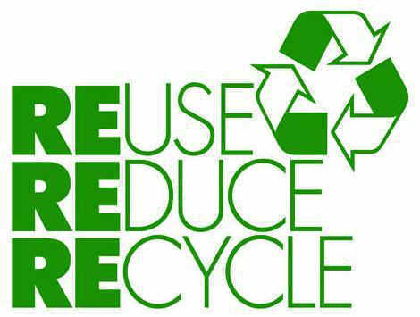 3 RE's: Reuse, Reduce, Recycle!