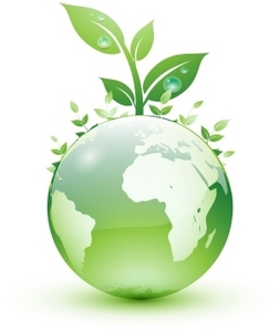 Keep the earth going green and conserve the green energy!