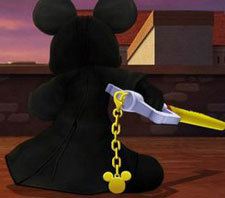 King Mickey and his Keyblade of Darkness