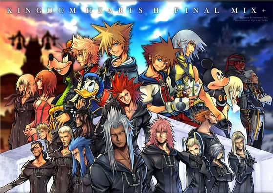 Main Characters and ORganizationXIII